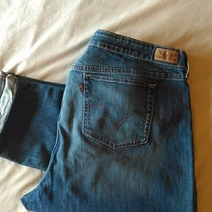 Levi's mid rise skinny jeans size 22W